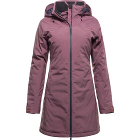 Yeti Raa Hardshell Down Coat Women wine